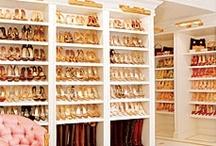 closet envy / Inspiration for my #DREAM #closet!  #shoes #shelves