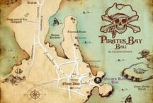 The Pirates Bay - Nusa Dua Bali / The Pirates Bay  : Cafe and Restaurant   Location  The Pirates Bay  at The Bay Bali,  BTDC Area, Lot C-0, Nusa Dua, Bali 80363 . INDONESIA