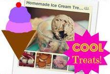 Homemade Ice Cream Treats / We love ice cream! How about you?