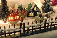 Christmas Village...making one / by Connie Reed