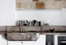 INTERIOR | KITCHEN / Originally a mood board I made for my new kitchen .... with new pins  Kitchen ideas and inspiration