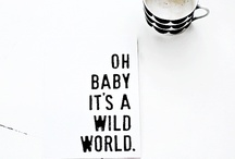WORDS | QUOTES | POSTER ART | TYPOGRAPHY | GRAPHIC / Graphics Typography letters tekst quotes woeds