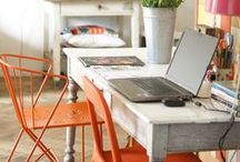 home: office space. / by Tori Tatton