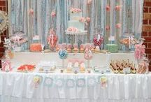 Shabby Chic Party Ideas / Get inspired by the beautiful details on these Shabby Chic Parties Featured on Seshalyn's Party Ideas #shabbychic #party ideas  / by Seshalyn's Party Ideas