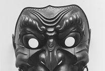 Mengu / Japanese Samurai Facial Armour