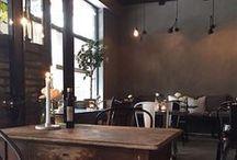 INTERIOR - Restaurants - Pure & Original / Inspiring restaurants, bars and cafés that has painted with Pure & Original