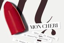Mon Cheri / Velour Lovers Lip Colour #LipAffair / by Laura Mercier
