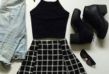 s т y l є / Dark, soft grunge & goth fashion #style #clothes #fashion