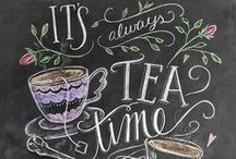 t є a / Tea is always a good idea :) #tea