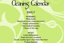 Cleaning Help / by Kathy McCann