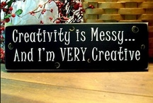 Why Didnt I Think Of That & Crafts / DIY projects I want to do yesterday! I enjoy every craft out there & am always looking for new ones. Check out my other boards for more category-specific messes to make! / by Amber Bellikka
