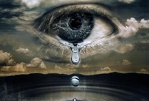 SORROW & GRIEF / Who knows why they are so sad. Maybe from a breakup or the loss of a friend . Maybe they are grieving for the loss of a loved one. No matter how big or small,  the hurt is there. Sometimes it is fleeting but other times it may never go away. / by JoAnn Johnson