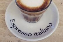 Caffè & Cappuccino! / Quirky photos of coffee in all its delicious forms, plus some of our favourites bars {in and out of Rome} for great cappuccino & great service!
