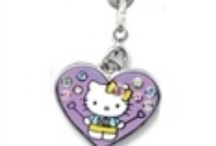 Hello Kitty Belly Button / Different Hello Kitty Charms on Top Selling Belly Button Rings! Including Best Friends and Popcorn!
