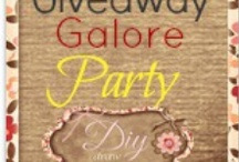 Giveaway Galore Party / Promote Your Giveaways for Free on DIY Draw! Let's Start a Giveaway Party! / by DIY Draw