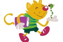 El Mundo de Zyro /  El gato Zyro acompaña a los pequeños lectores de Casa del Libro en el descubrimiento de la lectura. / by Casa del Libro