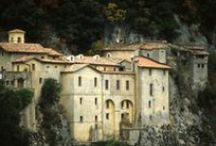 Sanctuaries & Monasteries | St. Francis & St. Benedict / Follow in the footsteps of St. Francis or St. Benedict and visit beautiful and unusual churches, sanctuaries, abbeys and monasteries in Rome and Lazio - for prayer, marriage, meditation, or admiring the architecture and art.