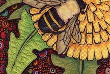 Beezzzzzzzzzz: The happiness of the bee and the dolphin is to exist. For man it is to know that and to wonder at it.  / by Doula Meraki
