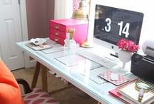 Home Office / Inspiration and ideas for a gorgeous office space.