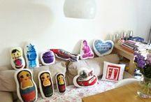 Home Decoration / anregungen und tipps, wie ihr die schönen aneuli kissen verwenden könnt. © alle fotos aneuli