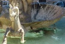 Italian Fountains / Some unusual fountains in Rome and towns and villages around Lazio.