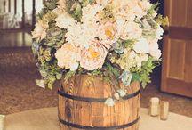 Flowers/center pieces / Wedding