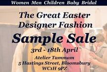 The Great Easter Sample Sale / A selection of images from 'The Great Easter Sample Sale'