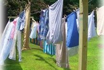 Laundry: See it / I love the sight of laundry drying on a line...