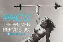 CrossFit Women / Strong is freaking beautiful!