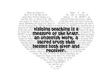 Church: Visiting Teaching / Because when we serve each other, we learn to love each other.