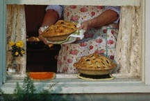 """Food: Pie / """"Good apple pies are a considerable part of our domestic happiness."""" Jane Austen"""