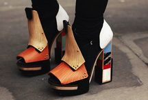 For big feet! / Shoes  / by Silvia Rodriguez Santos