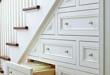 Home Organization / Smart solutions for organizing small spaces.