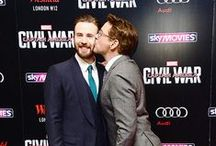 Fangirl: Avengers / Loki. That is all. Well, and Cap and Bucky...