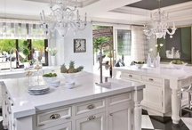 Decor: Kitchen Glamorous / The Heart. of. the. Home. / by SANDY M Illustration