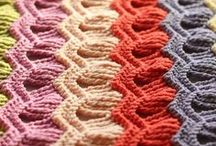 To Make and Do: Knit and Crochet / inspiration for long winter nights with knitting needles and a crochet hook.