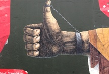 Wall art / Art on walls