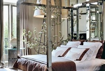 Decor: Sweet Dream Bedrooms / I Want a Bedroom So Pretty I Wake up to Look at it Again / by SANDY M Illustration