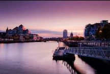River Liffey / The River Liffey flows through the heart of Dublin, with iconic bridges offering opportunities to cross throughout. See some pics here!