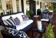 Decor: On the Veranda / Exterior Porches and Loggias
