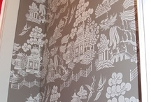 Decor: If Walls Could Talk / Paint, Wallpaper, Murals / by SANDY M Illustration