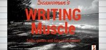 Writing Muscle / Exercises, quotes and tools for writers of ANY genre.. Be sure to follow my blog: Seawoman's Caribbean Writing Opps http://bit.ly/SeawomanCbeanwriting
