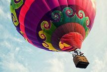 Hot air balloons! / by Tammy Johnson