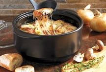 Pampered Chef Rockcrok® / Recipe ideas for Pampered Chef's Rockcrok Everyday Pan and Dutch Oven.