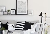 Design Eye - Living Room Inspiration / Keeping it simple and clean.