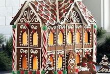 Gingerbread Houses / Inspiration for gingerbread house decorating and design.