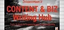 Content & Biz Writing Hub / Tools and inspiration for organizing the different aspects of your #contentwriting #corporatewriting #contentmarketing #business - copywriting, copyediting etc.