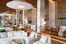 ❤️ DESIGN - Hotel Lobbies / Check in, check it out.