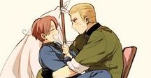 GerIta / Hetalia Germany x North Italy Alemania x Italia del Norte