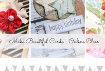 Card Making & Mixed Media Craft Videos. / Click here to learn new techiques for making your own handmade cards and craft.  Video tutorials Do It Yourself Card Making.